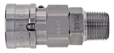 Stainless Ball Lock Cupla SM