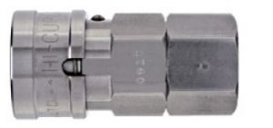 Stainless Ball Lock Cupla SF